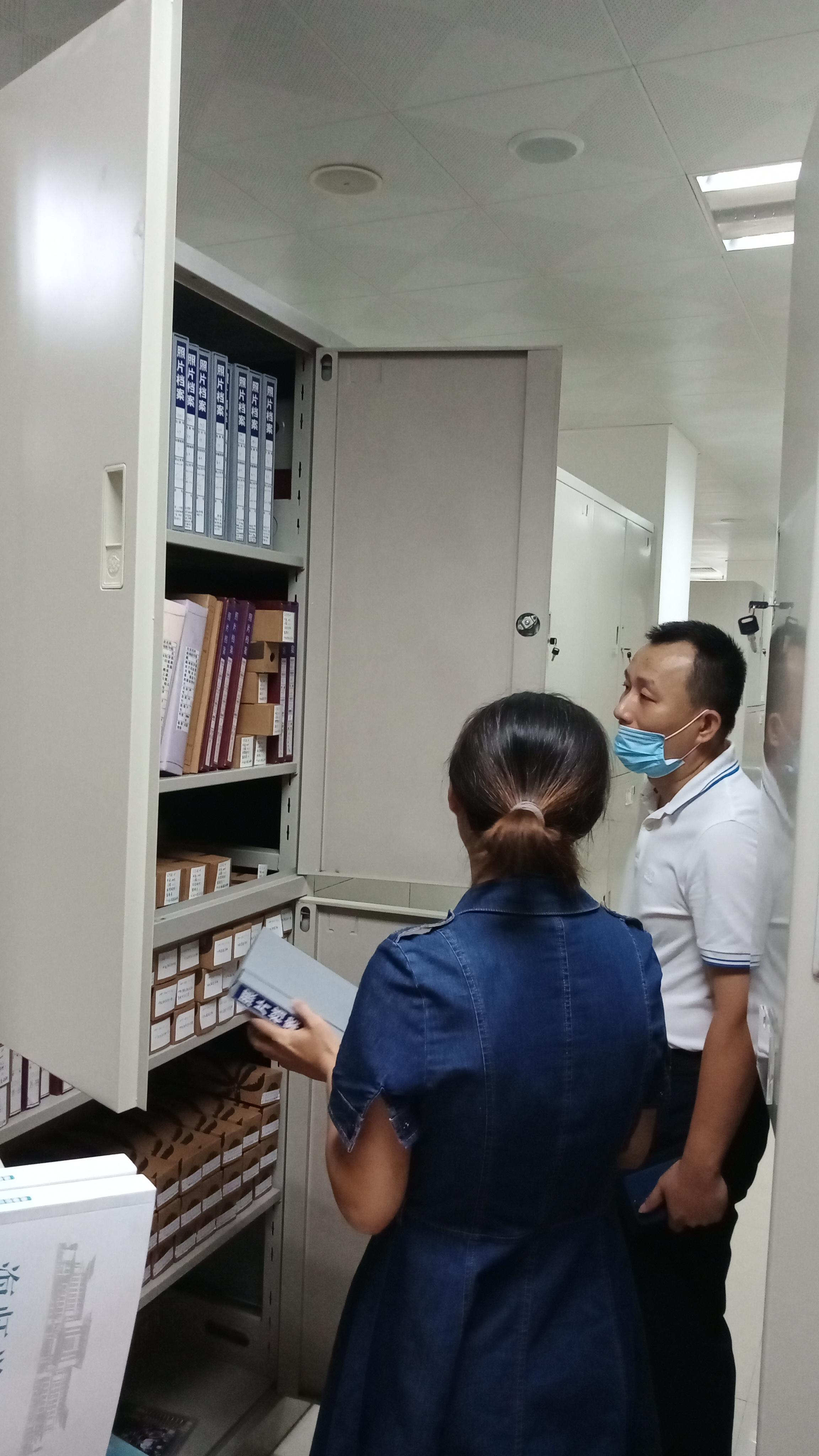 馆领导赴海南医学院档案馆调研