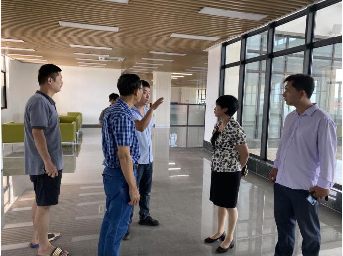 校领导带队走访调研桂林洋校区图书馆