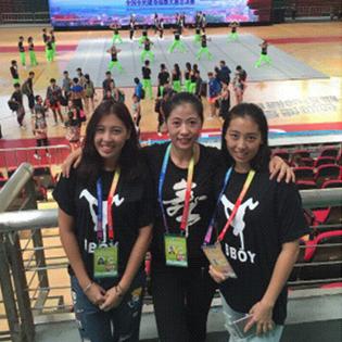 孙孟佳同学获全国全民健身操舞大赛两项一等奖