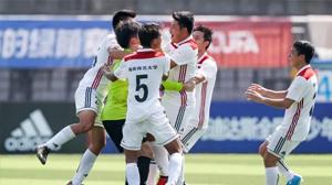 厉害了!海南师范大学足球获CUFA冠军联赛季军