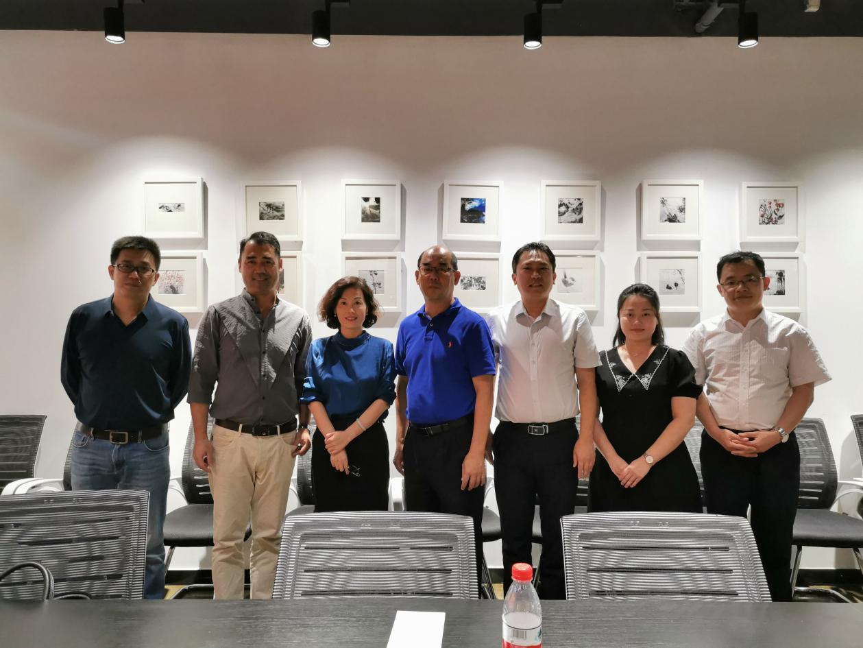 陶海生书记带队赴山东艺术学院传媒学院考察交流