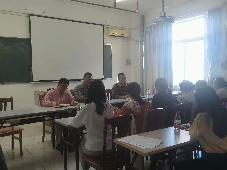 经济与管理学院举行研究生座谈会