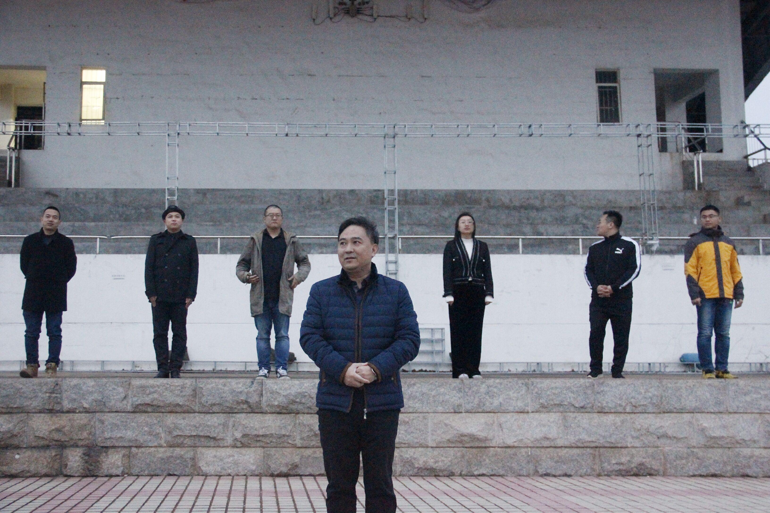 青年之声·记葡京国际娱乐官网网址文学院升旗仪式