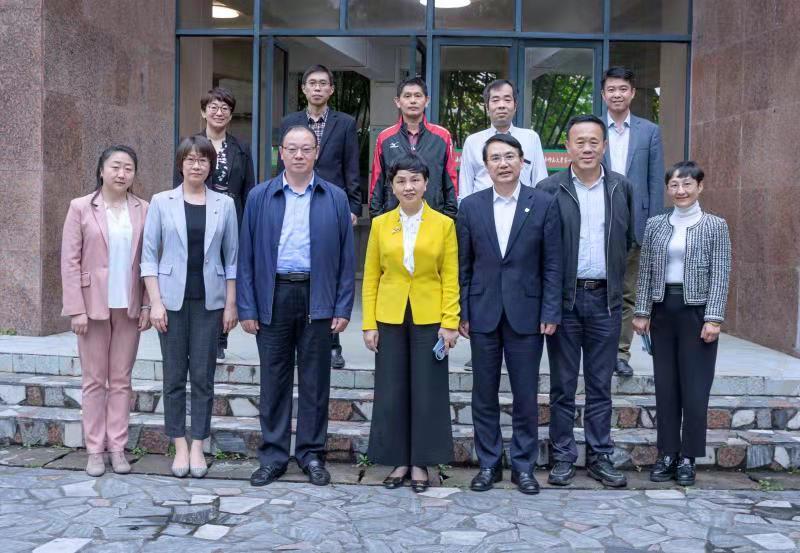 中國教育國際交流協會秘書長王永利一行來我校調研