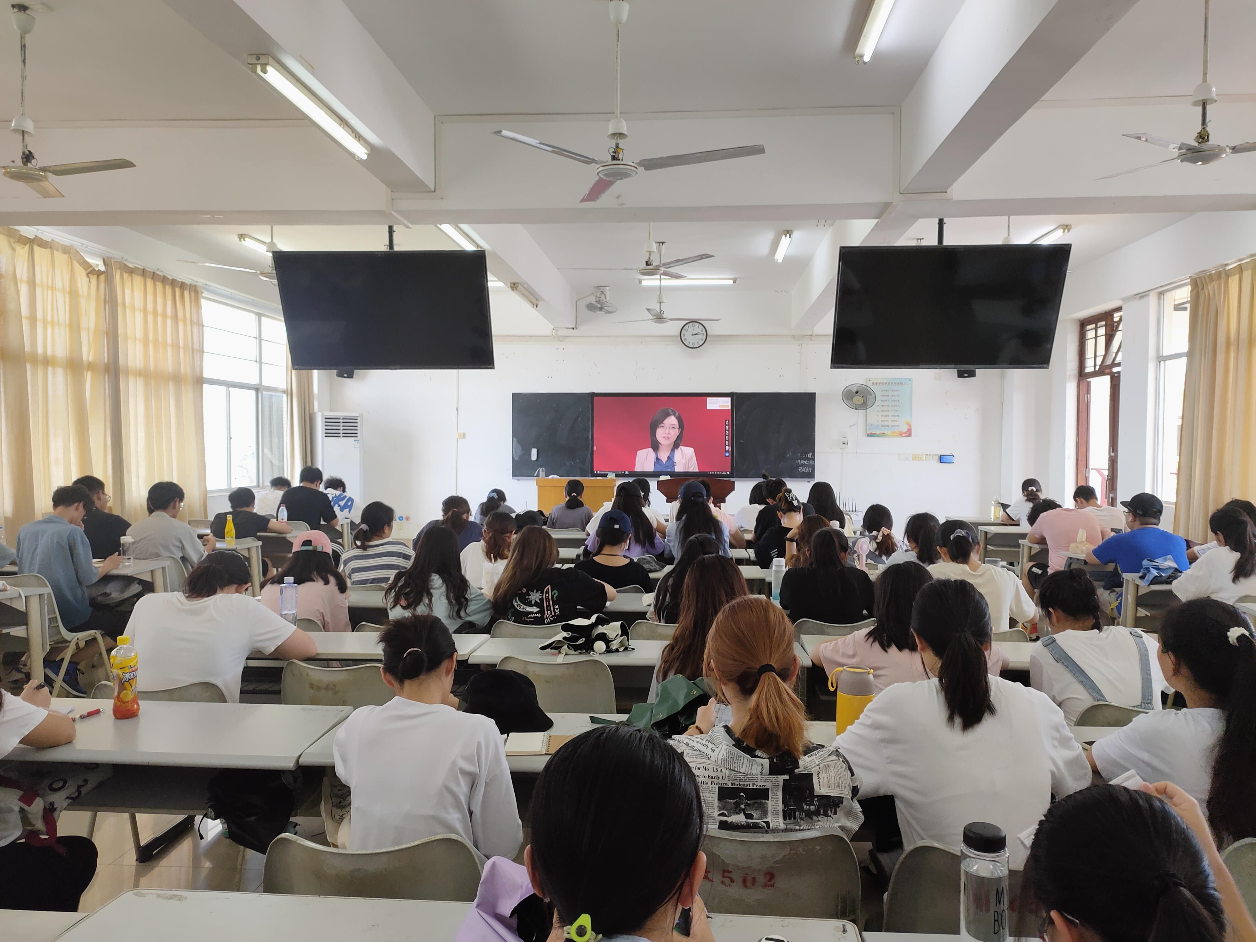 青年之声·记马克思主义学院''同上'四史'思政大''学习活动