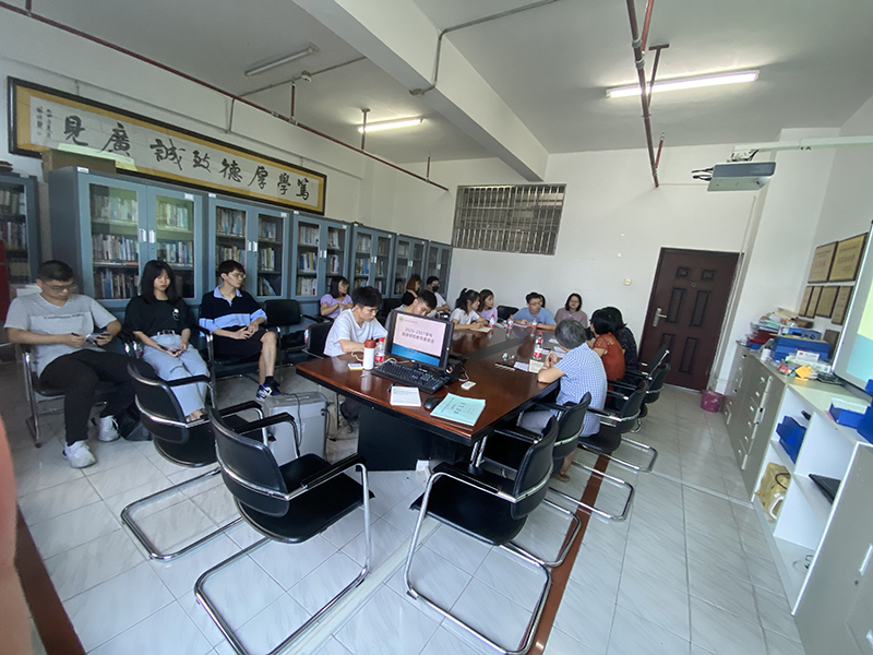 国家正规网投平台再次举办教学座谈会