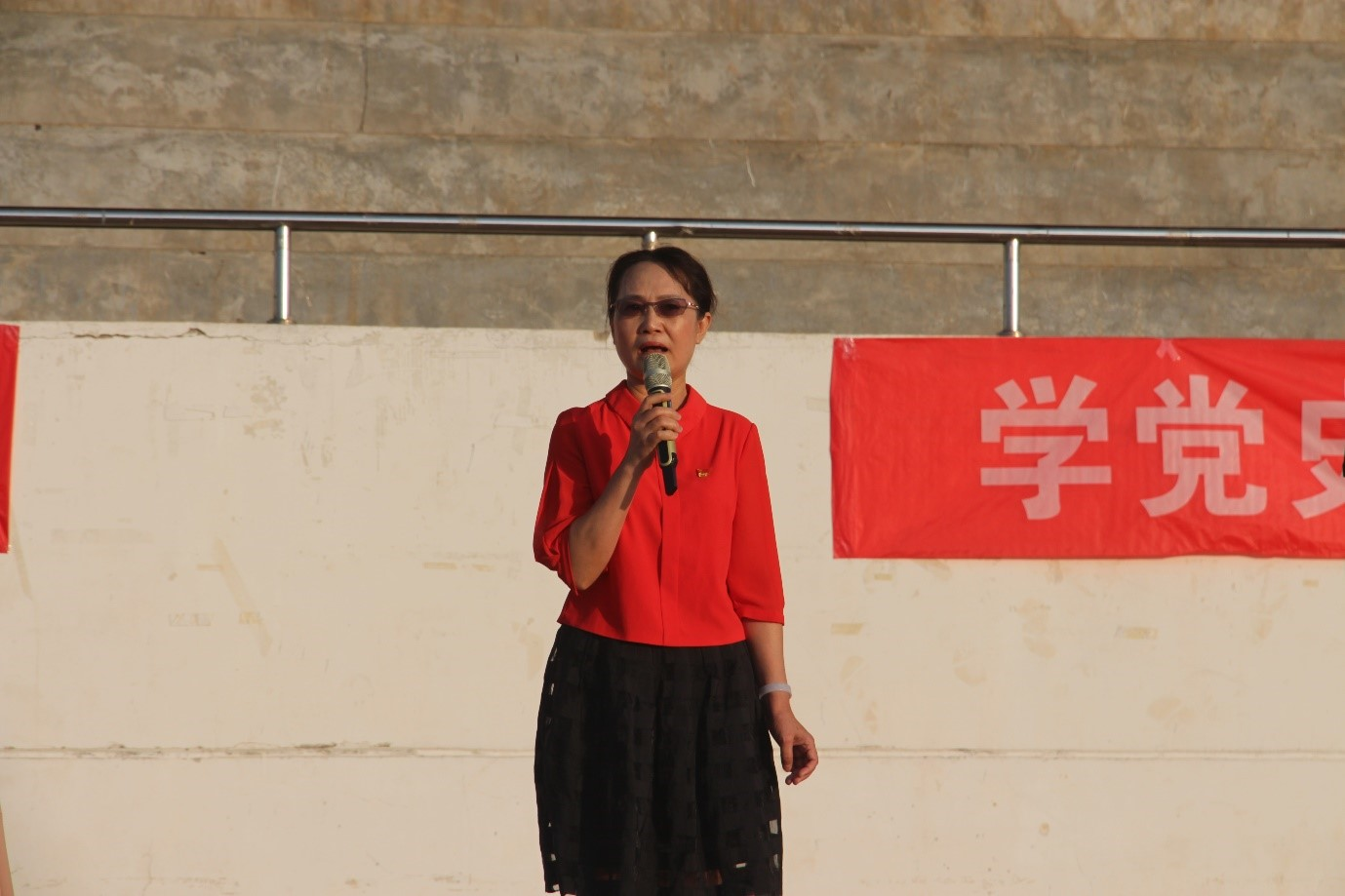 青年之声·记九州bet9娱乐ju111历史文化学院升旗仪式