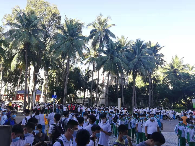 第38届全国中学生物理竞赛预赛(海南赛区)圆满举行